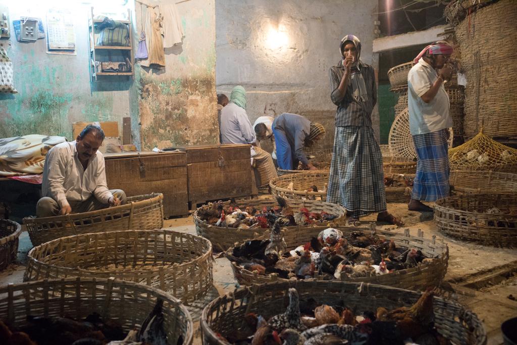Geflügelfleisch in Kolkata