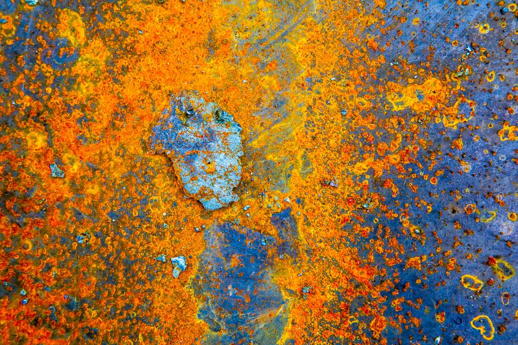 Kunst durch Witterungseinflüsse